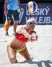 Turnaj Světové série Ostrava Beach Open, 21. června 2018, na snímku Markéta Sluková