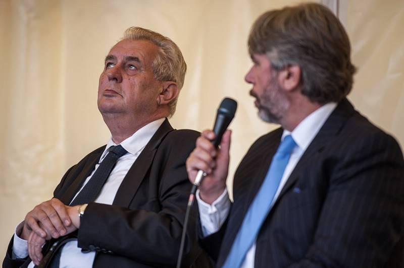 Miloš Zeman, Český Těšín, září 2015.