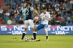 5. kolo první fotbalové ligy: Baník Ostrava – Slavia Praha 1:3