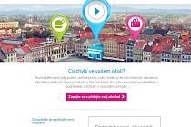 Úvodní stránka k webu projektu Hledá se obchod.