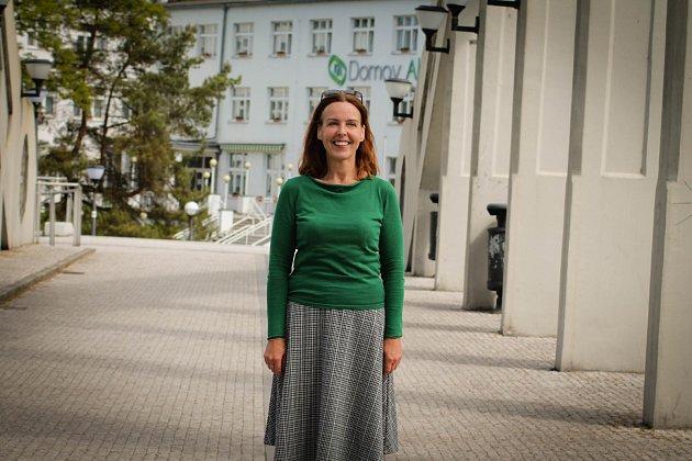 Spisovatelka Karin Lednická
