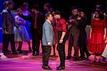 Generální zkouška světového muzikálu West Side Story v Divadle Jiřího Myrona 5. února 2020 v Ostravě. Herec (vlevo)  Tomáš Savka.