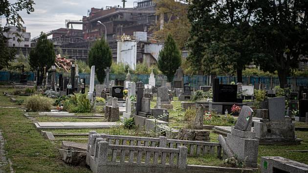 Hřbitov v Mariánských Horách, 23. září 2020 v Ostravě.