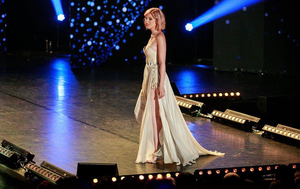 Vyhlášení české Miss 2018 v Gongu.Amálie Sloupenská