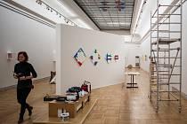 Snímek z výstavy nazvané Reductive. NL, která je k vidění v Domě umění Ostrava.