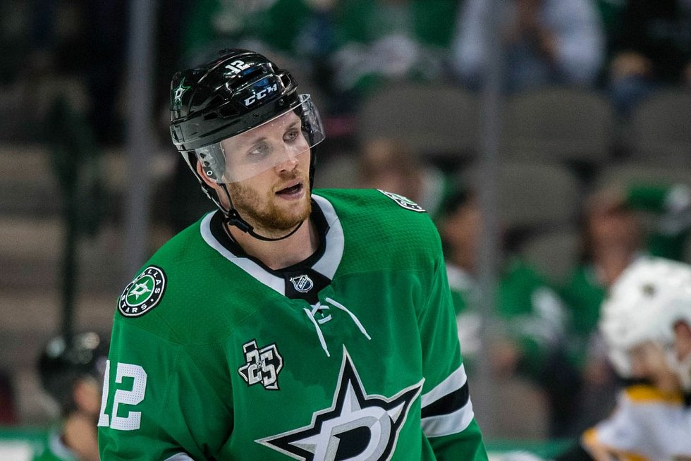Hokejista Radek Faksa hraje v NHL za Dallas Stars.