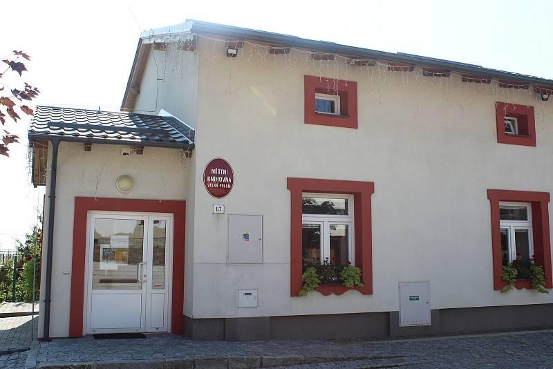 Knihovna ve Velké Polomi.
