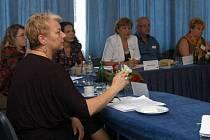 Liana Janáčková (vlevo) je hostitelkou starostek a primátorek z Česka i dalších zemí EU