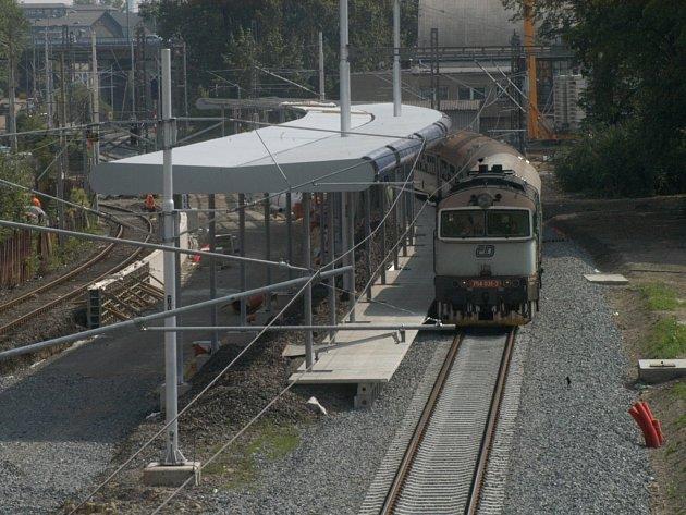 Vznikající vlaková zastávka Ostrava-centrum by mohla začít fungovat do konce letošního roku.