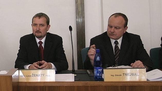 Zdeněk Trejbal (vpravo)