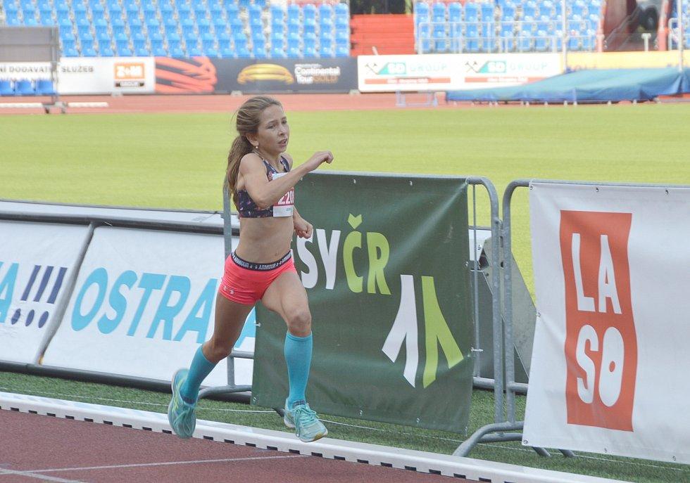 Valérie Králová zvítězila v běhu na 300.