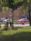 Tragická nehoda na Opavské ulici v Ostravě-Porubě.