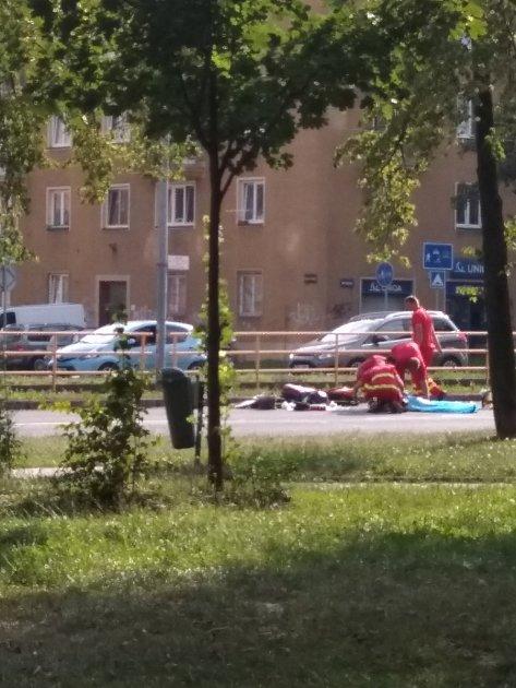Tragická nehoda na Opavské ulici vOstravě-Porubě.