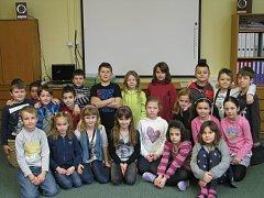 Třeťáci ze Základní školy Matiční v Ostravě.