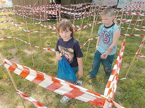 Děti mohou až do neděle dovádět ve středisku volného času na Gurťjevově ulici v Ostravě-Zábřehu, kde se koná další ročník oblíbené Bambiriády.
