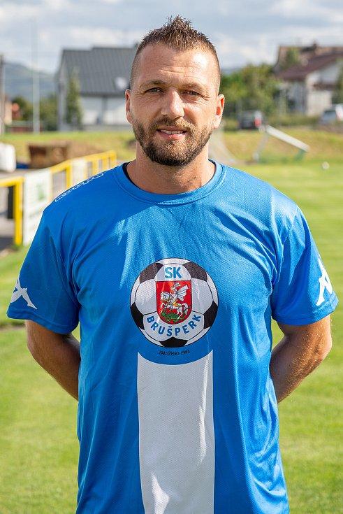 Fotbalový klub - Spolek SK Brušperk, 26. srpna 2020 v Brušperku. Radek Polášek (záložník)