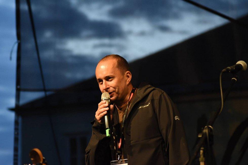 Šéf festivalu Hradecký slunovrat Václav Müller