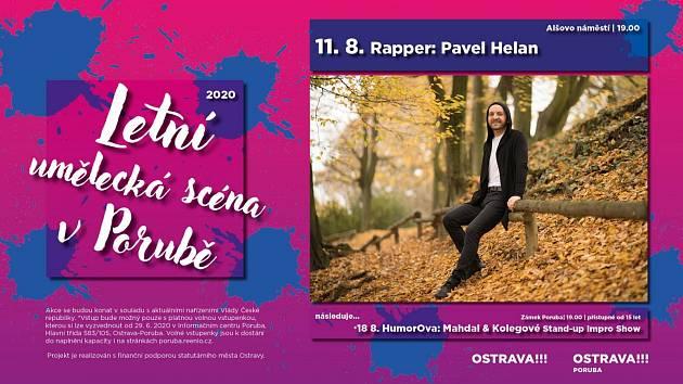 Letní uměleckou scénu v Porubě: koncert Pavla Helana