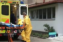 Převoz zajišťovala pohotovostní posádka Týmu pro specializované činnosti Zdravotnické záchranné služby Moravskoslezského kraje.