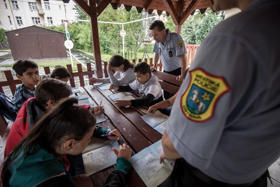 Příměstský tábor pořádaný Městskou policií Ostrava.