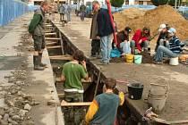 V roce 2006 bylo Masarykovo náměstí v Ostravě doslova přeplněno archeology.