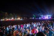 Hudební festival Colours of Ostrava 2019 v Dolní oblasti Vítkovice, 18. července 2019 v Ostravě. Na snímku Kryštof.