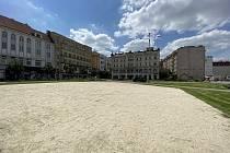 Masarykovo náměstí v Ostravě, 15. června 2020.