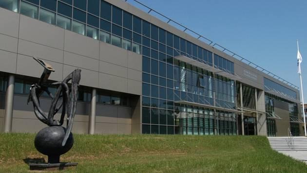 Aula VŠB – TU Ostrava, kterou realizovala firma OHL ŽS, a. s.,  Divize Stavitelství Ostrava