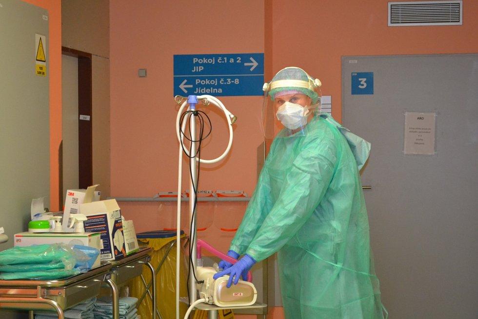 Městská nemocnice Ostrava předělala metabolickou JIPku na covidovou.