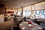 Hotel Imperiál - restaurace La Brasserie, prosinec 2019, Ostrava.