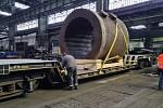 Ostravská slévárna vyrobila kokilu o hmotnosti 110 tun, celkové výšce 3 metry a průměru přes 4 metry. Ilustrační foto