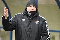 Trenér Baníku Vlastimil Petržela. Ilustrační foto.
