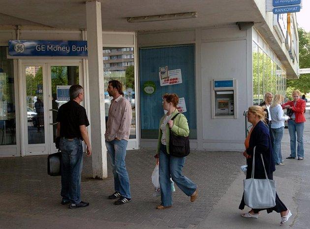 Pobočka GE Money v Ostravě-Hrabůvce
