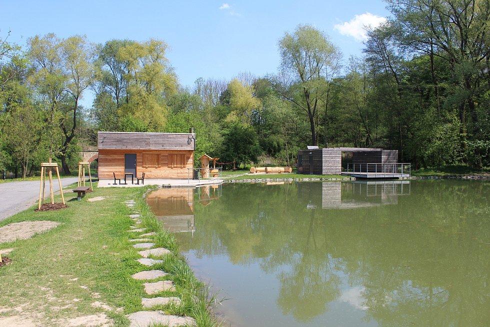 Rybníky pod Bedřiškou.