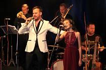 Martin Chodúr a Adélka Řehořová z Berouna, kteří se představí na pondělním koncertě v Ostravě.
