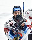 Utkání předkola play off hokejové extraligy - 2. zápas: HC Vítkovice Ridera - HC Sparta Praha, 12. března 2019 v Ostravě. Na snímku Peter Trška.