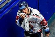 Utkání předkola play off hokejové extraligy - 2. zápas: HC Vítkovice Ridera - HC Sparta Praha, 12. března 2019 v Ostravě. Na snímku Rastislav Dej.