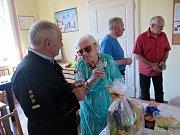Paní Božena Pajcharová v úterý 25. června 2019 završila šňůru jubilejních oslav 100 let.