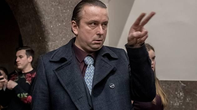 Představitel Tondy Blaníka herec Marek Daniel.