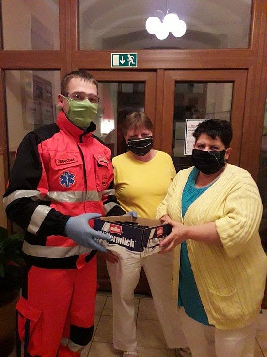 Zdravotníci neziskového spolku Rescue Team