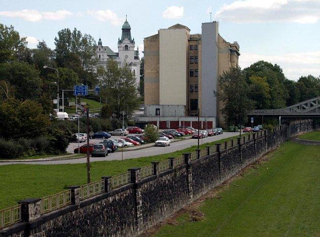 Seidlerovo nábřeží v Ostravě