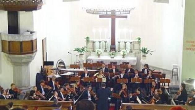 Ilustrační foto z koncertu Svatováclavského festivalu, který se uskutečnil v kostele sv. Václava v Ostravě