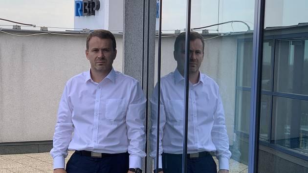 Výkonný ředitel RBP, zdravotní pojišťovny Antonín Klimša.