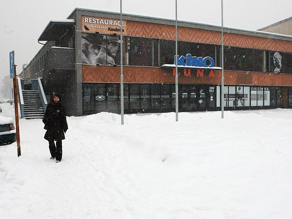Kino Luna vOstravě-Zábřehu.