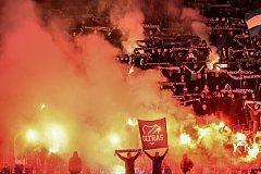 Ultras ostravského Baníku. Ilustrační foto.