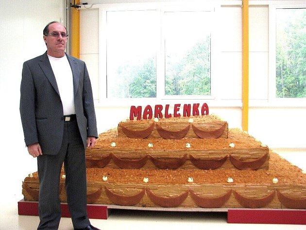Gevorg Avetisyan, majitel společnosti Marlenka international.