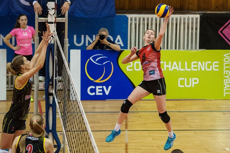 TJ Ostrava - Jenisej Krasnojarsk 1:3