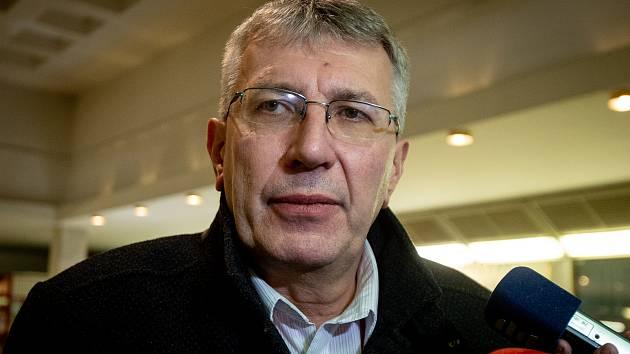 Ředitel Fakultní nemocnice Ostrava MUDr. Jiří Havrlant druhy den po střelbě, 11. prosince 2019 v Ostravě.