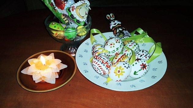 Výzva Velikonoce - kraslice Lucie Pawlíkové