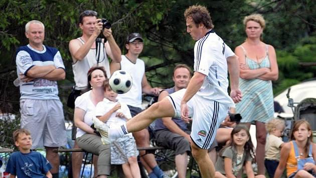 Pavel Kubina v utkání Kubina Teamu
